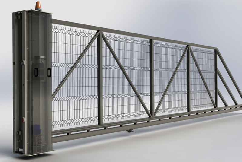 Systemowe ogrodzenia i bramy ogrodzeniowe BRAMAR