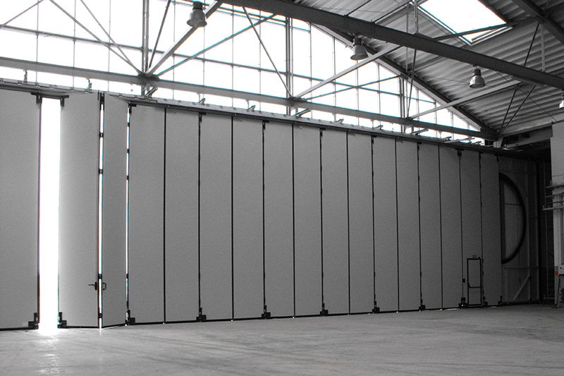 Obiektowe bramy wielkogabarytowe zrealizowane przez BRAMAR