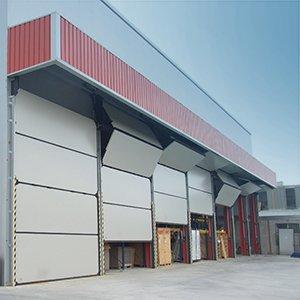 Przemysłowe bramy segmentowe Vertigo
