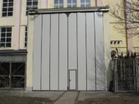 Bramy Harmonijkowe BRAMAR w Instytucie Wysokich Napięć Warszawa