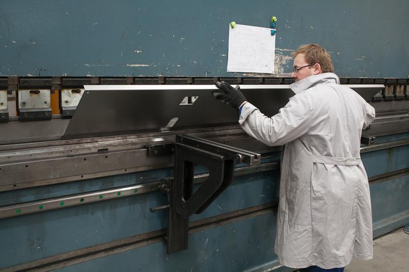 Prasa krawędziowa DURMA - maksymalna długość giętego elementu 6000 mm
