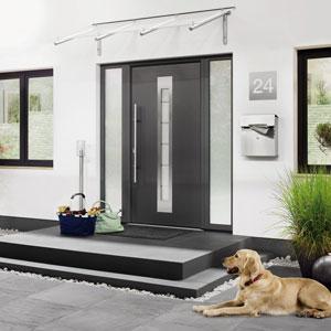 Drzwi zewnętrzne dla domu