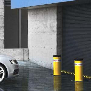Parkingowy słupek hydrauliczny