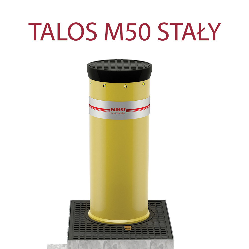 Pancerna blokada wjazdu Fadini TALOS M50 stała