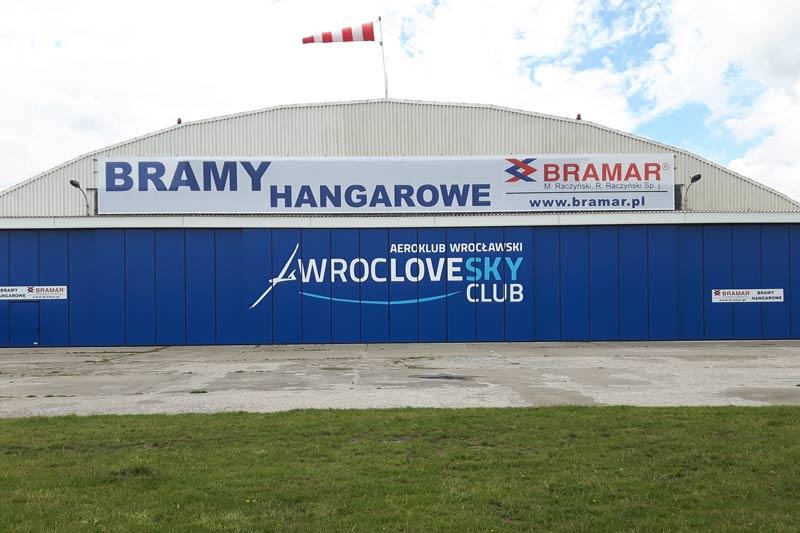 Wielkogabarytowe bramy przesuwne zrealizowane przez BRAMAR